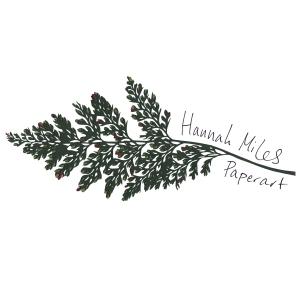 Hannah Miles Paperart Logo